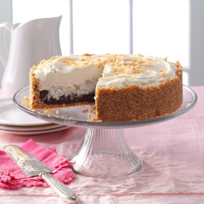 Chocolate & Coconut Cream Torte