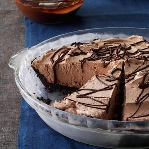 Smooth Chocolate Pie