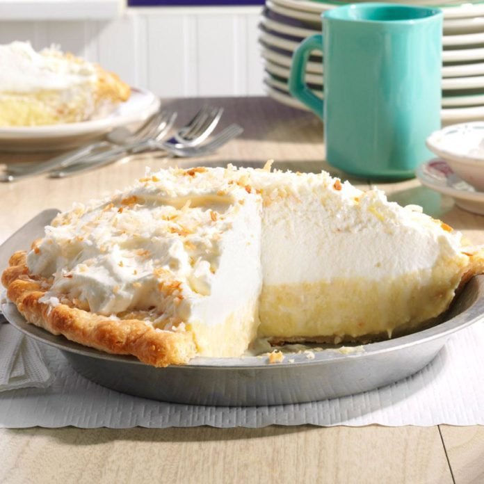Inspired by: Bob Evans' Coconut Cream Pie