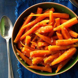 Brown Sugar-Glazed Baby Carrots