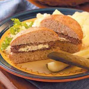 Horseradish Burgers
