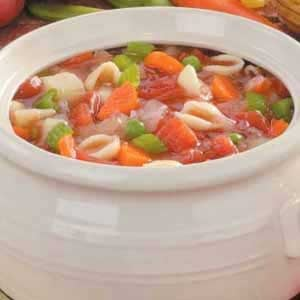 Homemade Italian Vegetable Soup
