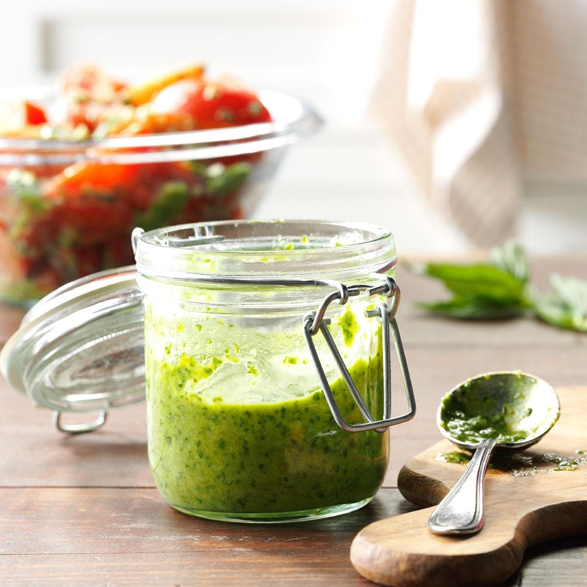 Basil and Parsley Pesto