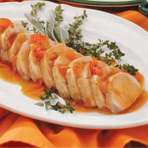 Pork with Apricot Sauce
