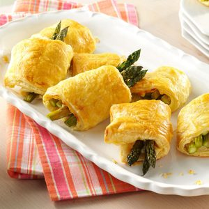 Asparagus Pastry Puffs