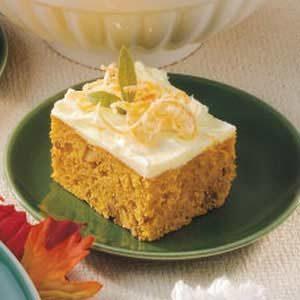 Pumpkin Orange Cake