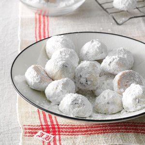 Cherry Almond Snowdrops
