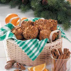 Crunchy Orange Muffins