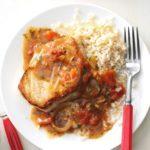 Saucy Pork Chop Skillet