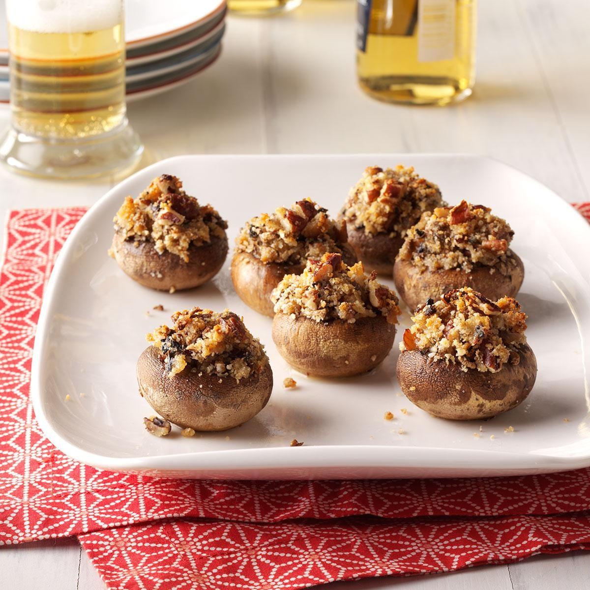 Test Kitchen Stuffed Mushrooms