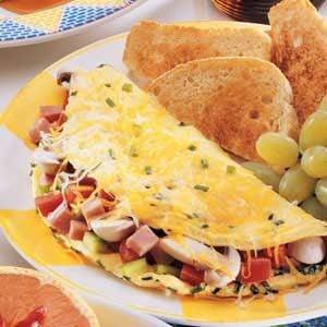 Deluxe Ham Omelet
