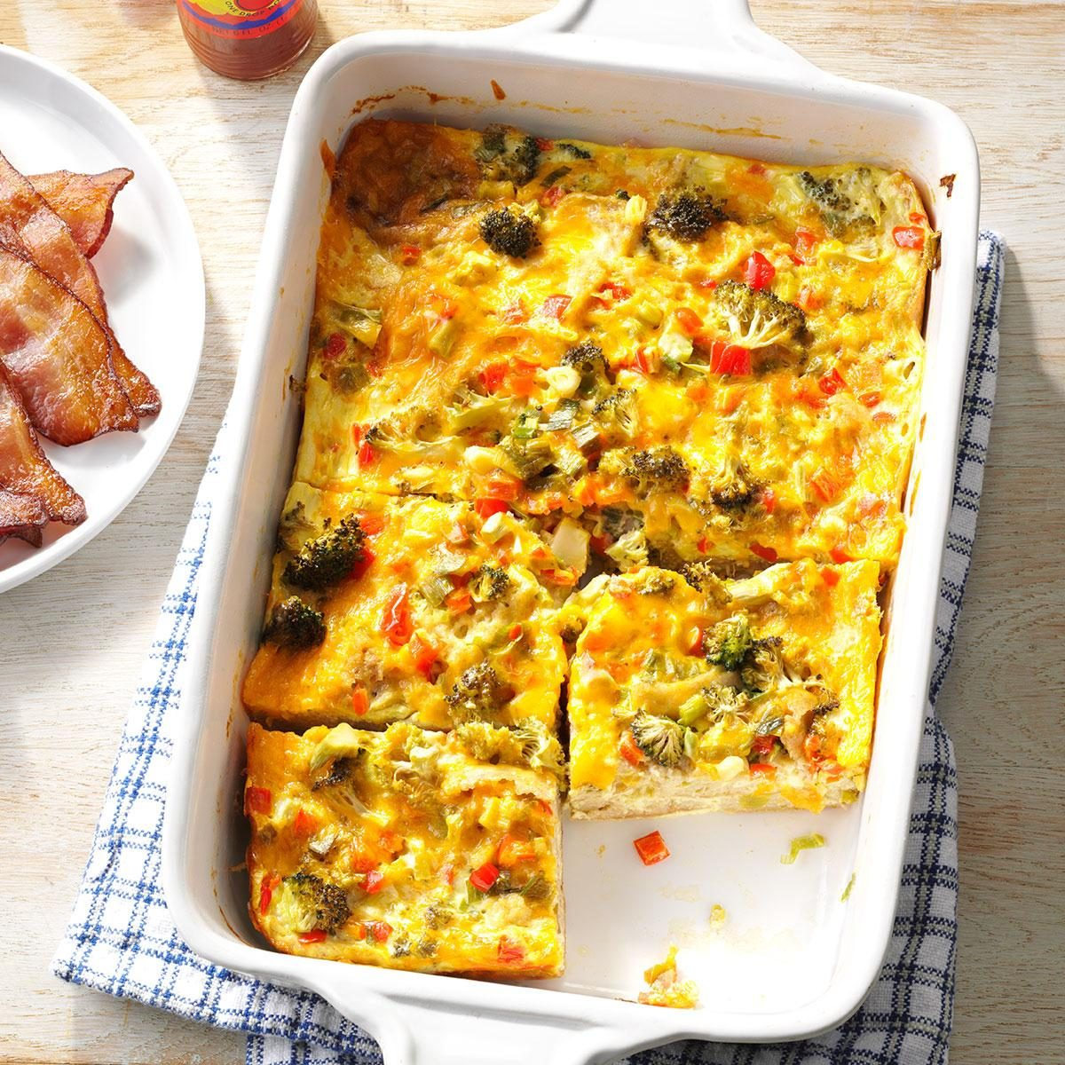 6 Diabetic-Friendly 13x9 Breakfast Casseroles