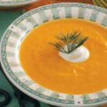 Creamy Carrot Parsnip Soup