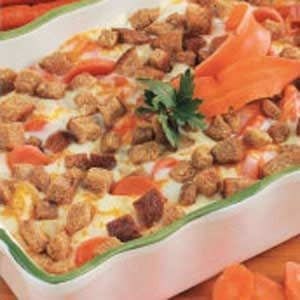 Scalloped Carrots Casserole
