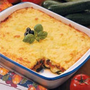 Classic Cheesy Zucchini Bake