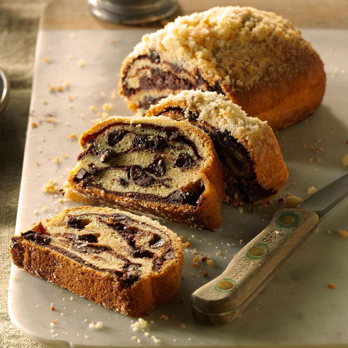 Mom's Chocolate Bread Recipe | Taste of Home