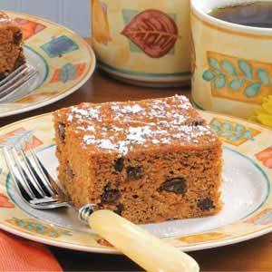 Raisin Carrot Cake
