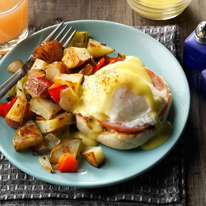 Eggs Benedict with Homemade Hollandaise