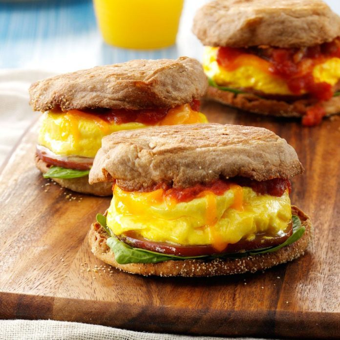 Inspired By: Bacon, Egg & Cheese Muffin