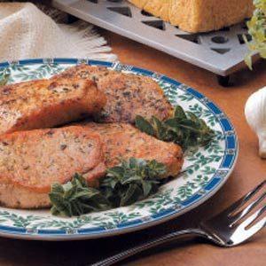 Pork Chops with Homemade Herb Rub