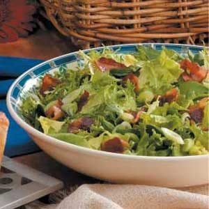 Wilted Green Salad