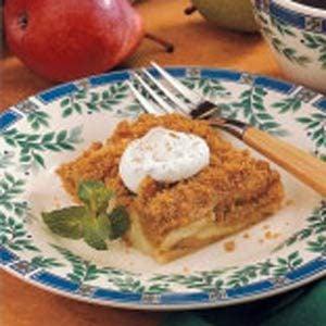 Pear Dessert Squares