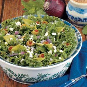 Curly Endive Salad