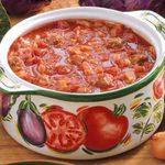 Cabbage Sausage Soup