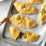 Sausage Spinach Turnovers