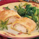 Chicken Cordon Bleu Calzones