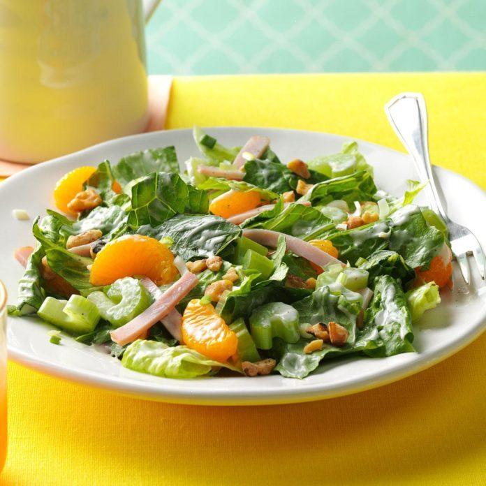 Ham & Mandarin Salad