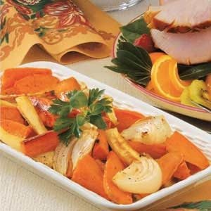 Sweet Potatoes and Parsnips