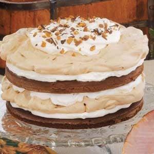 Chocolate Meringue Torte