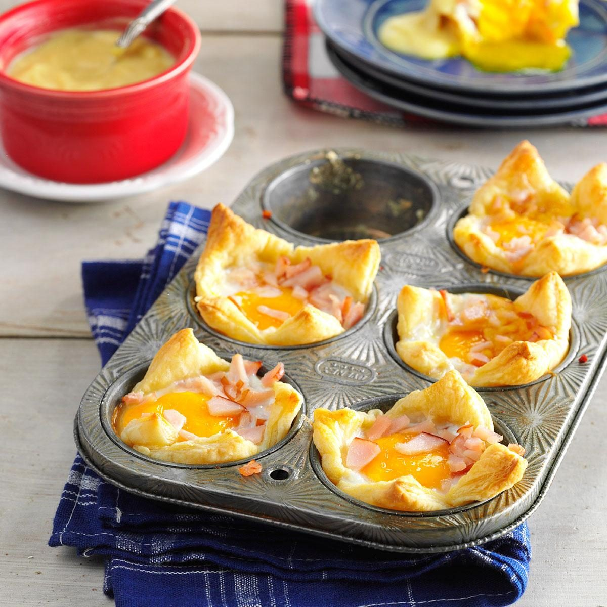 Egg Baskets Benedict