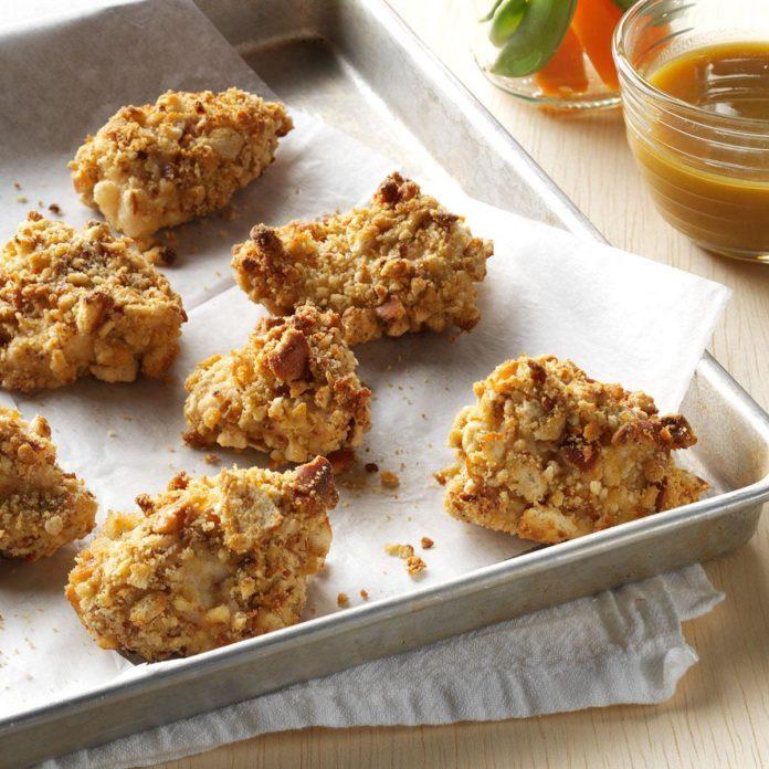 Day 18: Pretzel-Coated Chicken Nuggets