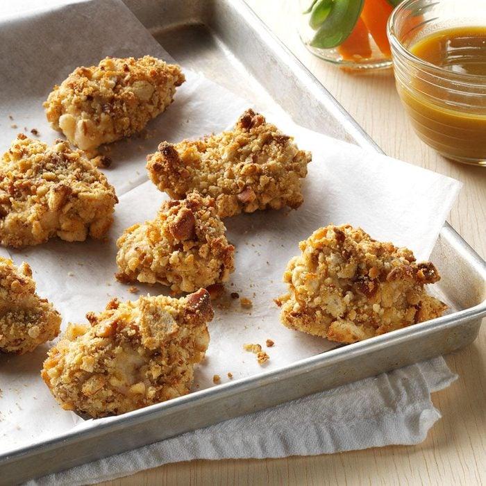 Pretzel-Coated Chicken Nuggets