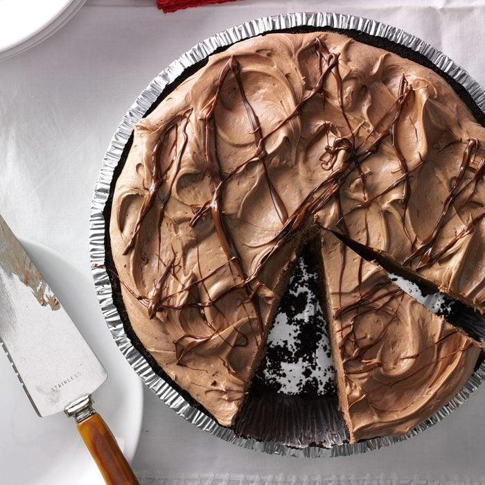 Creamy Hazelnut Pie