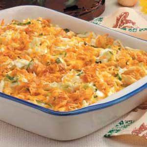 Cabbage Cheddar Casserole