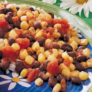 Zesty Corn and Beans