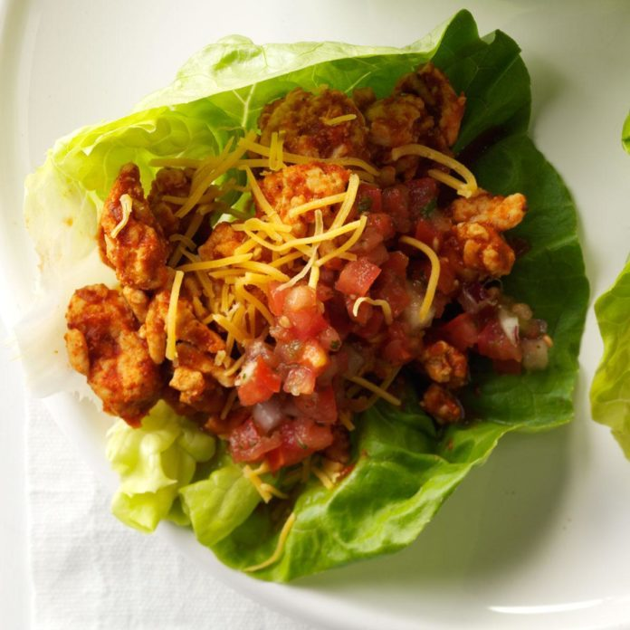 Monday's Lunch: Southwest Turkey Lettuce Wraps