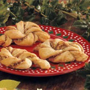 Cinnamon Nut Twists