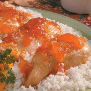 Saucy Apricot Chicken