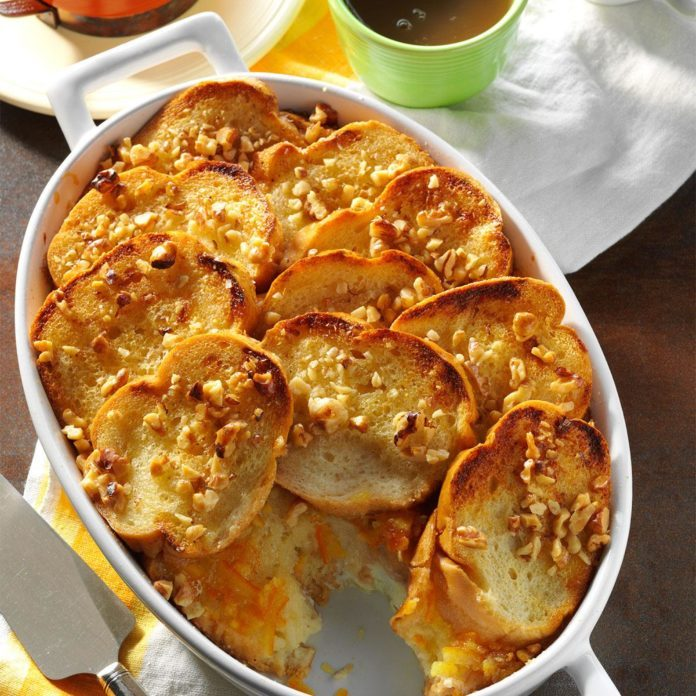 Orange Marmalade Breakfast Bake