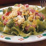 Crisp Cornbread Salad