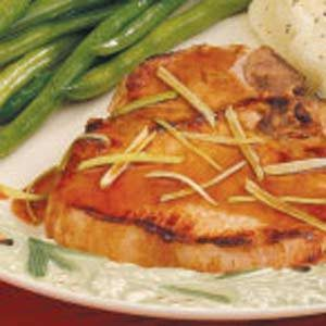 Ginger Pork Chops