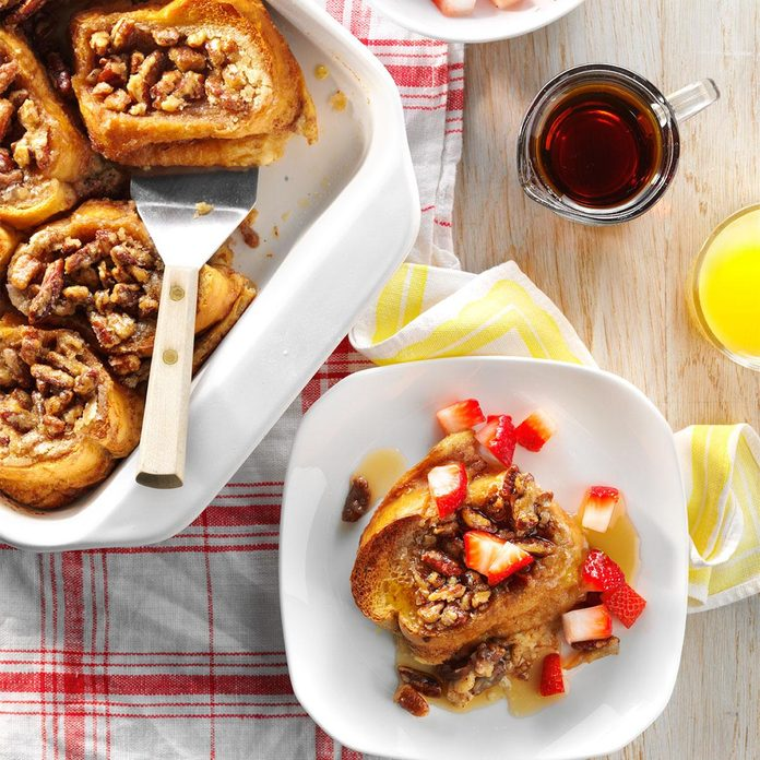 Baked French Toast with Strawberries