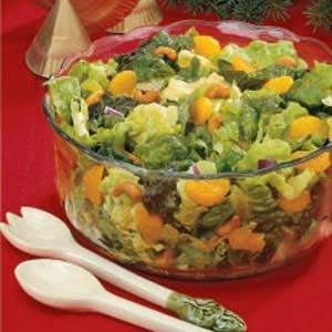 Mandarin-Cashew Tossed Salad