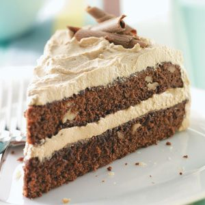 Maple-Mocha Brownie Torte