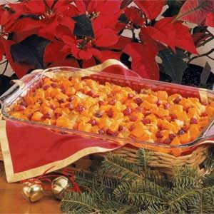 Sweet Potato and Cranberry Bake