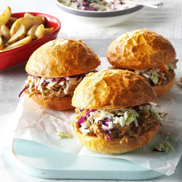 PB&J Pork Sandwiches